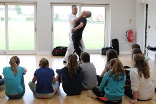 Self-Defence course at UTA Brackley