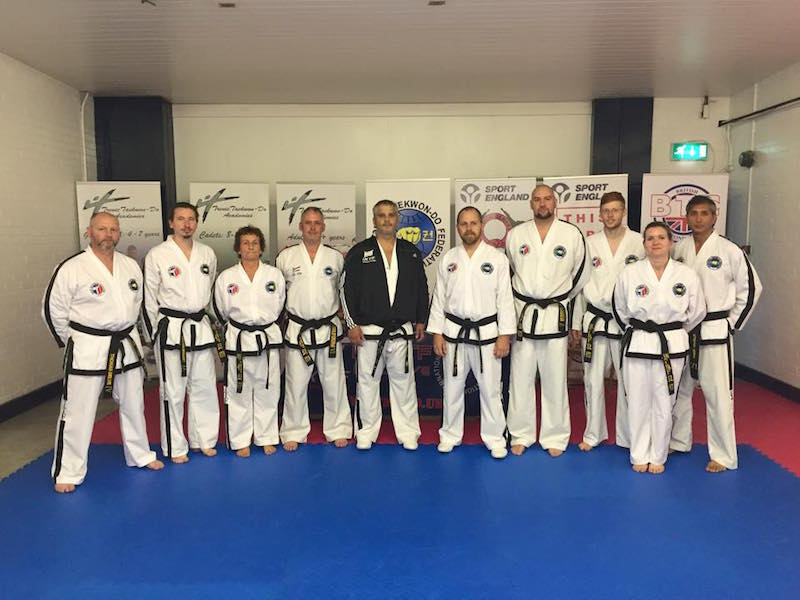 UTA Senior Instructors at UKITF IIC 2015