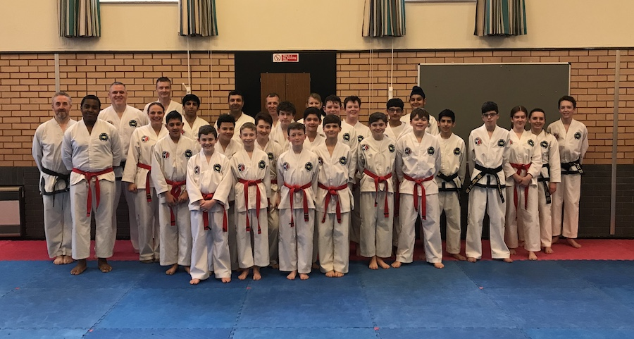 UTA Black belt Grading