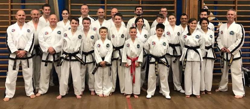 Training session in Northampton with Master Horan