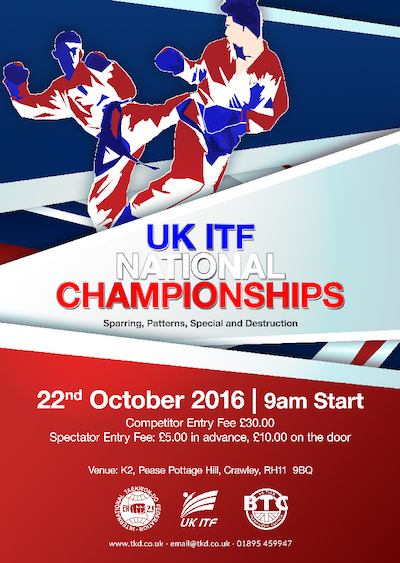UKITF NATIONALS UTA RESULTS